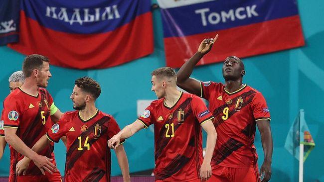 Belgia akan menghadapi Denmark dalam pertandingan lanjutan Grup B Euro 2020 (Euro 2021).