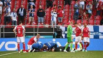 5 Insiden Penting Euro 2020: Dari Eriksen Hingga Ronaldo