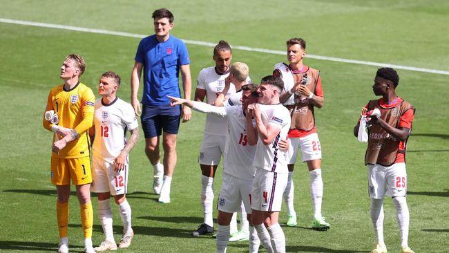 Kasus Covid-19 muncul di kamp latihan timnas Inggris jelang melawan Jerman di babak 16 Besar Euro 2020 (Euro 2021).