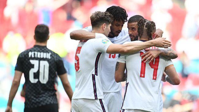 Timnas Inggris sudah menjadi juara Grup D Euro 2020 (Euro 2021). Siapa lawan mereka di babak 16 besar?