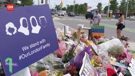 VIDEO: Kanada Kenang Keluarga Muslim yang Tewas Ditabrak Truk