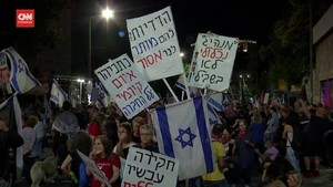 VIDEO: Warga Israel Berpesta Rayakan Akhir Era Netanyahu