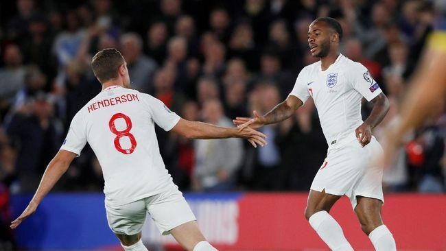 Berikut susunan pemain Inggris vs Kroasia pada laga perdana Grup D Euro 2020 (Euro 2021) di Stadion Wembley, London, Minggu (13/6).