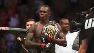 FOTO: Nate Diaz Kalah, Adesanya dan Moreno Menang di UFC 263