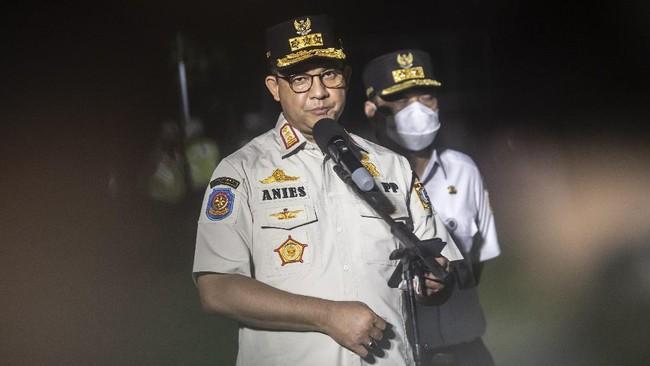 Anies Akui Covid DKI Hari Ini Tertinggi Selama Pandemi