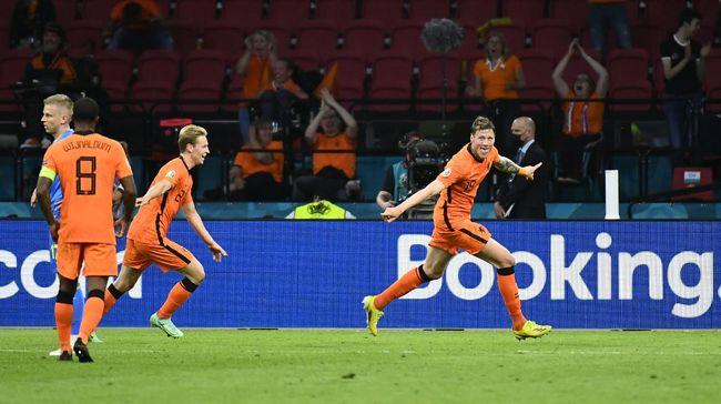 Pertandingan Belanda dan Austria diperkirakan bakal ketat karena sama-sama unggul pada laga pembuka Grup C Euro 2020 (Euro 2021).