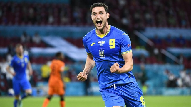 Jadwal Euro 2020: Ukraina vs Makedonia Utara