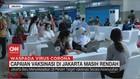 VIDEO: Capaian Vaksinasi di Jakarta Masih Rendah