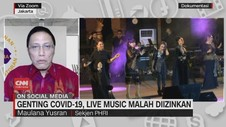 VIDEO: Genting Covid-19, Live Music Diizinkan