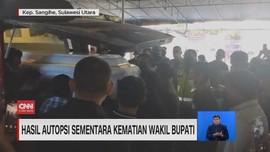 VIDEO: Hasil Autopsi Sementara Kematian Wakil Bupati Sangihe