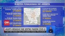 VIDEO: Jakarta Memasuki Fase Genting Pandemi Covid-19