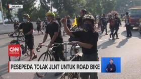VIDEO: Pesepeda Tolak JLNT Untuk Roadbike