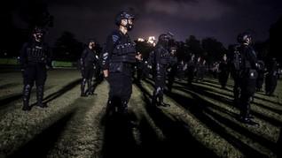 Polri Kerahkan 100 Personel Brimob Jaga Pos PPKM di Madiun