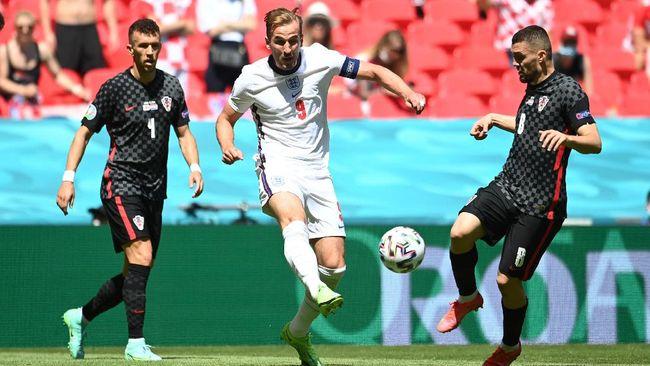 Penyerang timnas Inggris, Harry Kane, menyambut laga melawan Skotlandia di Grup D Euro 2020 (Euro 2021) dengan modal yang kurang bagus.