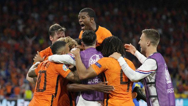 Belanda menang atas Ukraina, namun gagal memuncaki klasemen Grup C Euro 2020 (Euro 2021) karena kalah selisih gol dari Austria.