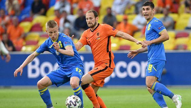 Dua gol yang dicetak Ukraina bisa jadi peringatan bagi Belanda yang memiliki target bisa mencapai babak gugur Euro 2020 (Euro 2021).