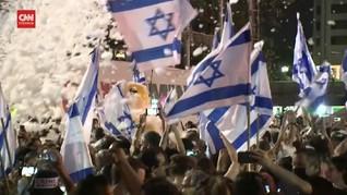 VIDEO: Israel Berpesta Sambut PM Baru, Naftali Bennett