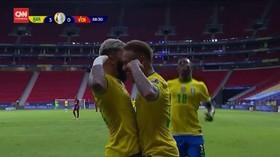 VIDEO: Neymar Bawa Brazil Cukur Venezuela 3-0