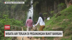 VIDEO: Wisata Air Terjun di Pegunungan Bukit Barisan