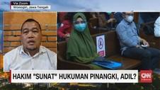 VIDEO: Hakim Sunat Hukuman Pinangki, Adil?