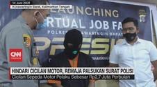 VIDEO: Hindari Cicilan Motor, Remaja Palsukan Surat Polisi