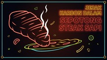 INFOG: Jejak Karbon dalam Sepotong Steak Sapi