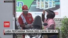 VIDEO: Laba Pertamina Tahun 2021 Capai Rp 15,3 T