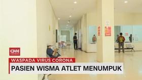 VIDEO: Pasien Wisma Atlet Menumpuk