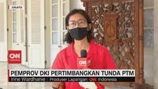 VIDEO: Pemprov DKI Pertimbangkan Tunda PTM
