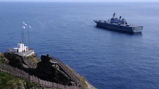 Jepang Berang Korsel Latihan Militer di Dekat Pulau Sengketa