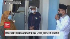 VIDEO: Puskesmas BukaSampai Jam 5 Sore, Bupati Mengamuk