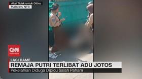 VIDEO: Remaja Putri Terlibat Adu Jotos