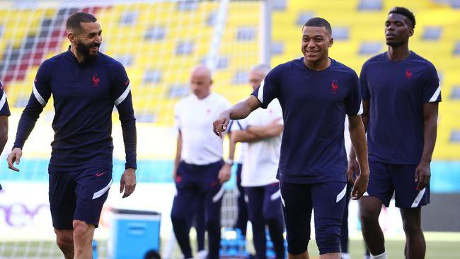 Prancis akan mencoba memastikan tiket babak 16 besar Euro 2020 (Euro 2021) saat duel dengan Hungaria.