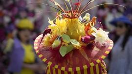FOTO: Warna-warni Ceria Busana Royal Ascot 'Musim Pandemi'
