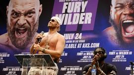 Tyson Fury Positif Covid-19, Duel Lawan Wilder Ditunda