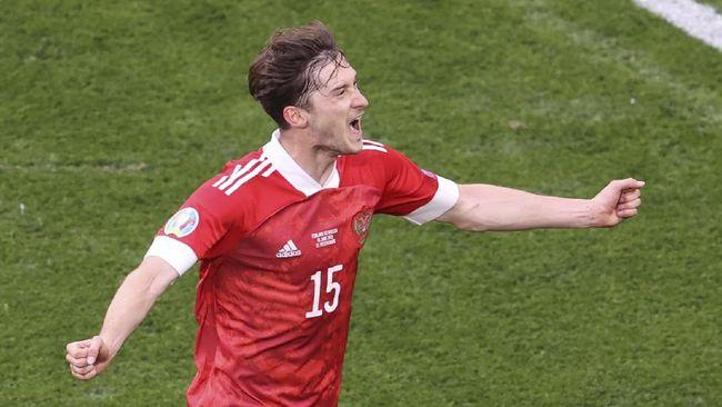 Timnas Rusia mengalahkan Finlandia 1-0 dalam laga lanjutan Grup B Euro 2020 (Euro 2021) berkat gol Aleksei Miranchuk.