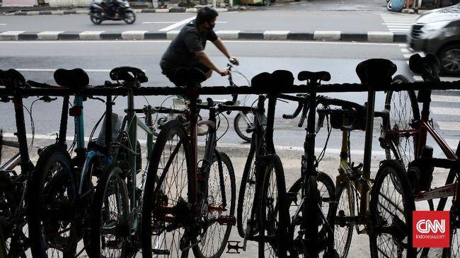 Asosiasi menyebut harga sepeda, terutama sepeda lipat, turun antara 20 persen hingga 30 persen karena kelebihan pasokan sepeda atau oversupply.