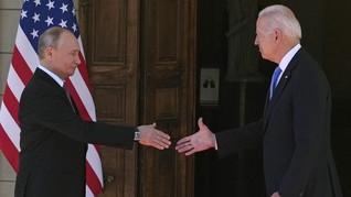 Pertemuan Biden dan Putin Mulai Berlangsung di Jenewa