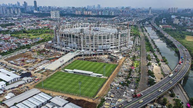 Atap Jakarta International Stadium Mampu Menyerap Energi Surya