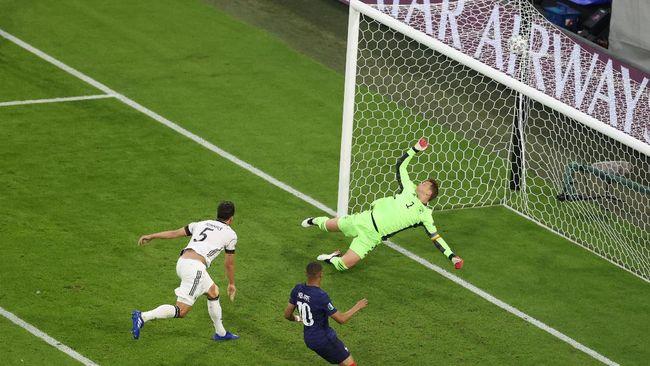 Kisah lucu terjadi saat anak Mats Hummels bersorak ketika sang ayah membuat gol bunuh diri di Euro 2020 (Euro 2021).