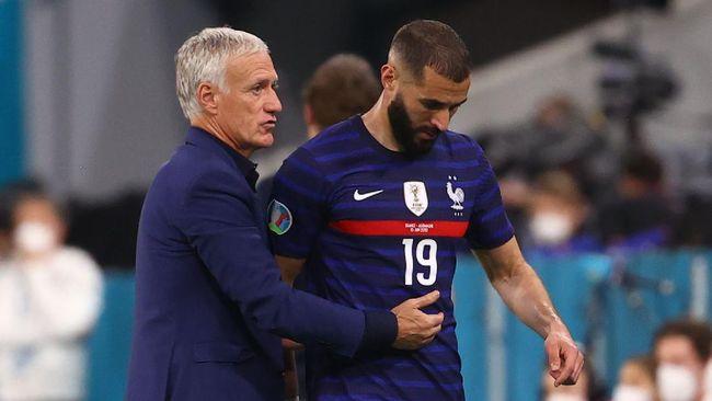 Prancis menang 1-0 atas Jerman di Euro 2020 (Euro 2021), tapi Didier Deschamps patut waswas dengan kemenangan tersebut.
