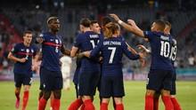 Prancis Unggul 1-0 Atas Jerman di Babak Pertama Euro 2020