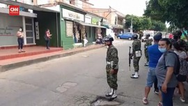VIDEO: Ledakan Bom Mobil di Kolombia, 36 Orang Luka-luka