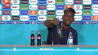 VIDEO: Momen Pogba Singkirkan Botol Bir di Euro 2020