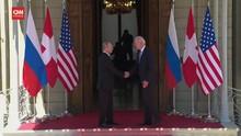 VIDEO: Momen Tatap Muka Bilateral Biden dan Putin di Swiss