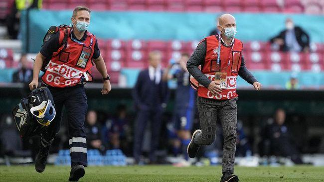 Anders Boesen, salah satu dokter timnas Denmark yang memberi pertolongan pertama ke Christian Eriksen ternyata mantan pebulutangkis dunia.