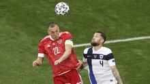 Euro 2020: Rusia Unggul Atas Finlandia di Babak I
