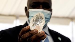 Botswana Klaim Temukan Berlian Ketiga Terbesar di Dunia