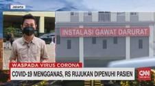 VIDEO: Covid-19 Mengganas, RS Rujukan Dipenuhi Pasien