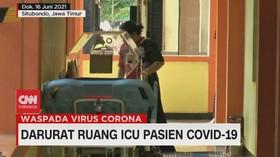 VIDEO: Darurat Ruang ICU Pasien Covid-19
